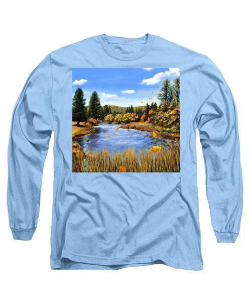 Seeley Montana Fall Long Sleeve T-Shirt by Susan Kinney