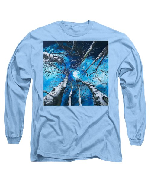 Selenophilia Long Sleeve T-Shirt by Sharon Duguay