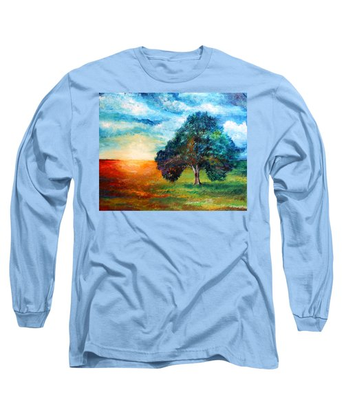 Self Portrait #3 A New Day Long Sleeve T-Shirt
