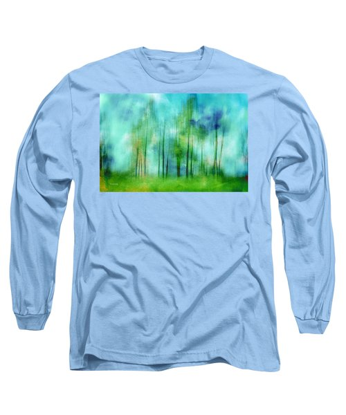 Sense Of Summer Long Sleeve T-Shirt by Randi Grace Nilsberg