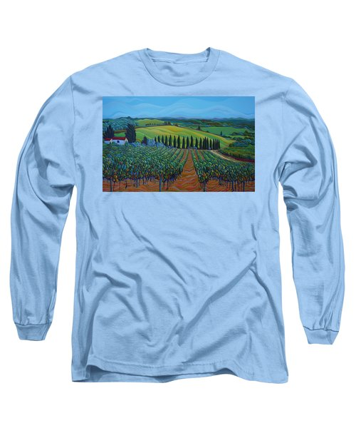Sentrees Of The Grapes Long Sleeve T-Shirt