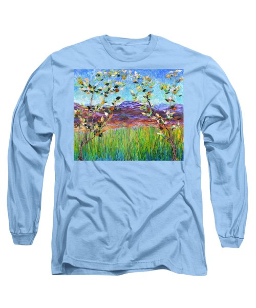 Sentries Diptych Long Sleeve T-Shirt
