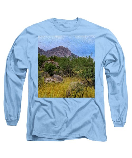 Long Sleeve T-Shirt featuring the photograph September Oasis No.2 by Mark Myhaver