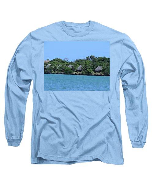 Serenity - Chale Island Kenya Africa Long Sleeve T-Shirt