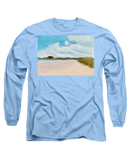 Seven Mile Beach On A Calm, Sunny Day Long Sleeve T-Shirt