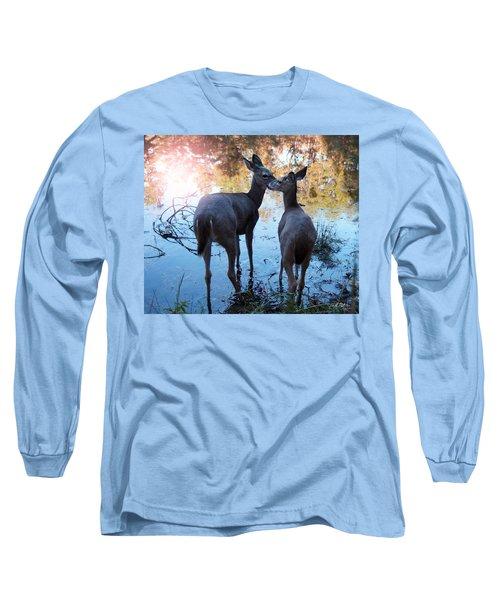 Shabbat  Shalom Long Sleeve T-Shirt by Bill Stephens