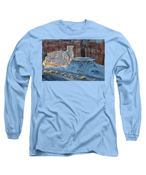 Shadows At Coal Mine Canyon Long Sleeve T-Shirt