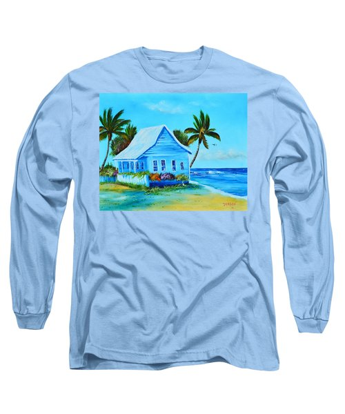 Shanty In Jamaica Long Sleeve T-Shirt
