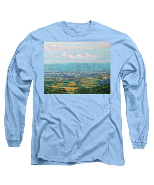 Shenandoah Blue Long Sleeve T-Shirt
