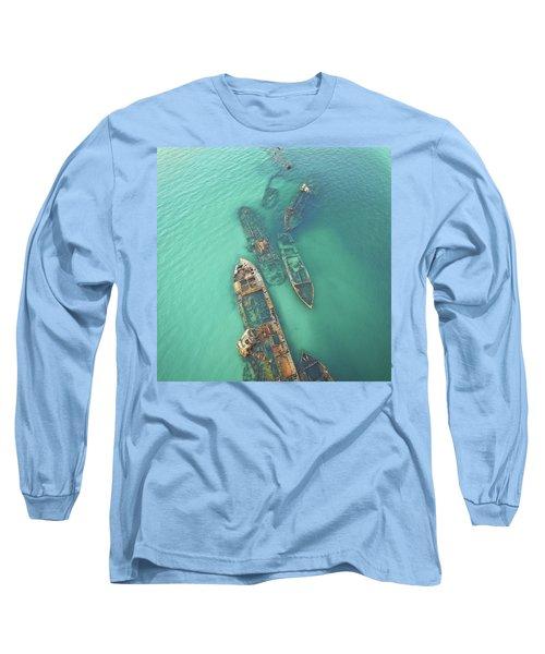 Shipwrecks Long Sleeve T-Shirt