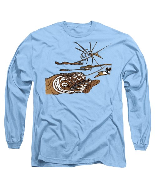 Shore Break Right Long Sleeve T-Shirt