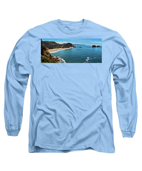 Short Beach, Oregon Long Sleeve T-Shirt