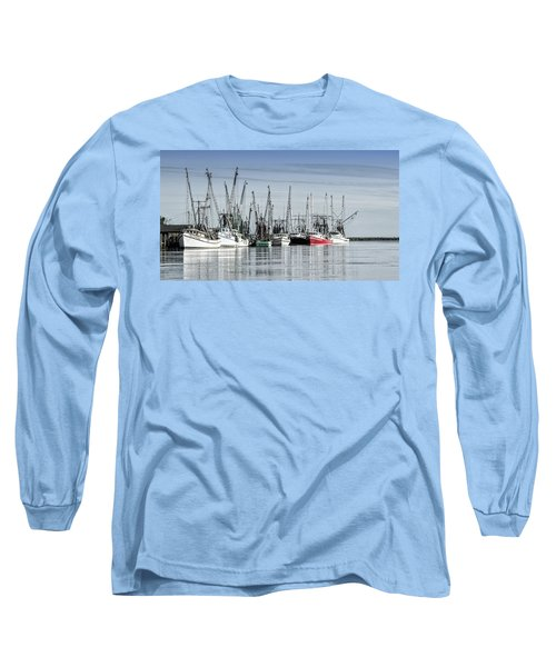 Shrimper's Day Is Done Long Sleeve T-Shirt