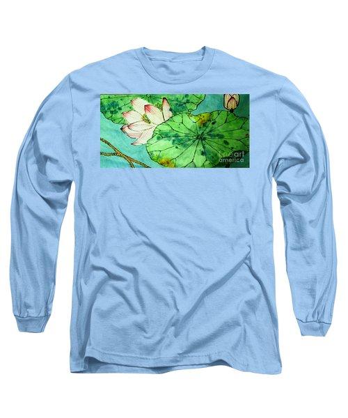 Shy Lotus Long Sleeve T-Shirt