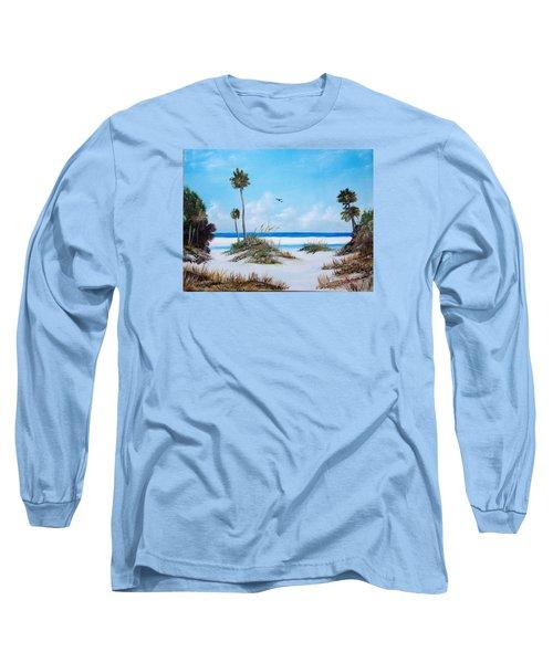 Siesta Key Fun Long Sleeve T-Shirt by Lloyd Dobson