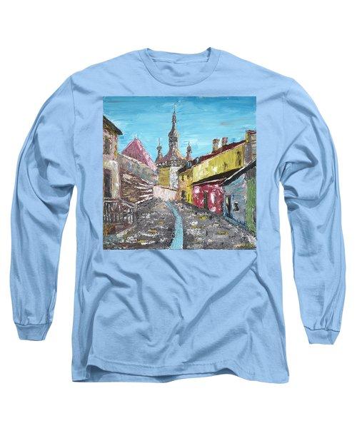 Sighisoara Draculas Home Long Sleeve T-Shirt