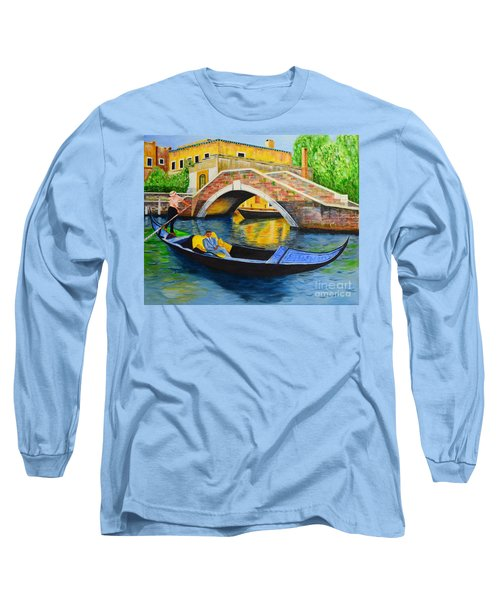 Long Sleeve T-Shirt featuring the painting Sightseeing by Melvin Turner