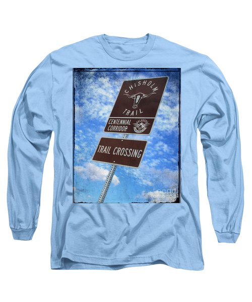 Sign On The Trail Long Sleeve T-Shirt