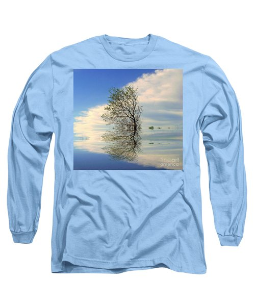 Silence Long Sleeve T-Shirt by Elfriede Fulda