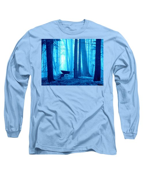 Long Sleeve T-Shirt featuring the photograph Silent Forest by Al Fritz