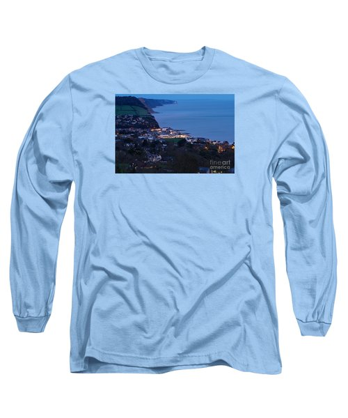 Long Sleeve T-Shirt featuring the photograph Simouth From A High. by Gary Bridger