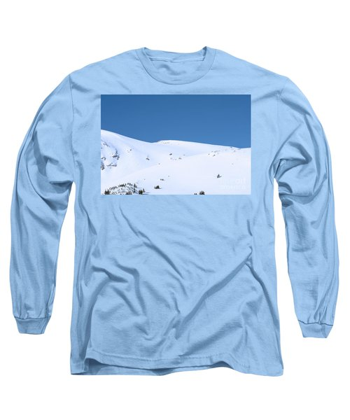Long Sleeve T-Shirt featuring the photograph Simply Winter by Juli Scalzi