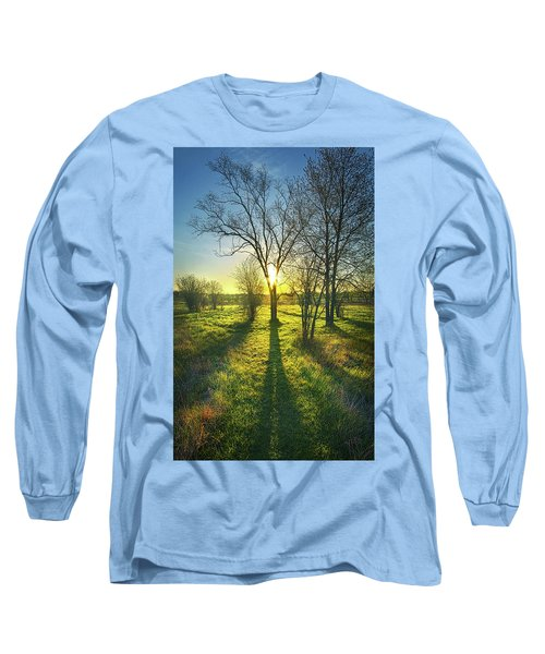 Long Sleeve T-Shirt featuring the photograph Single Moments by Phil Koch