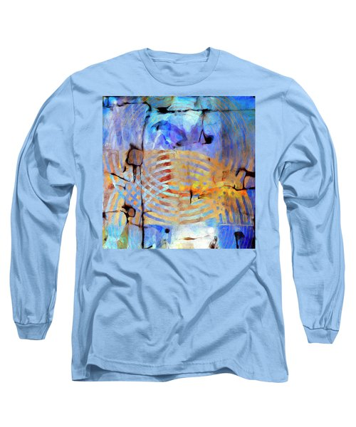 Long Sleeve T-Shirt featuring the painting Singularity by Dominic Piperata