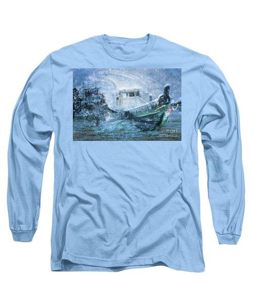 Siren Ship Long Sleeve T-Shirt
