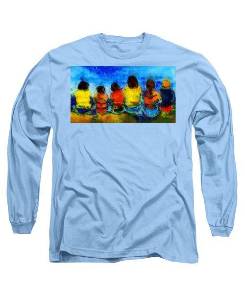 Six On The Shore  Long Sleeve T-Shirt