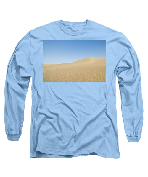 Skn 1412 The Ripples On The Slope Long Sleeve T-Shirt by Sunil Kapadia