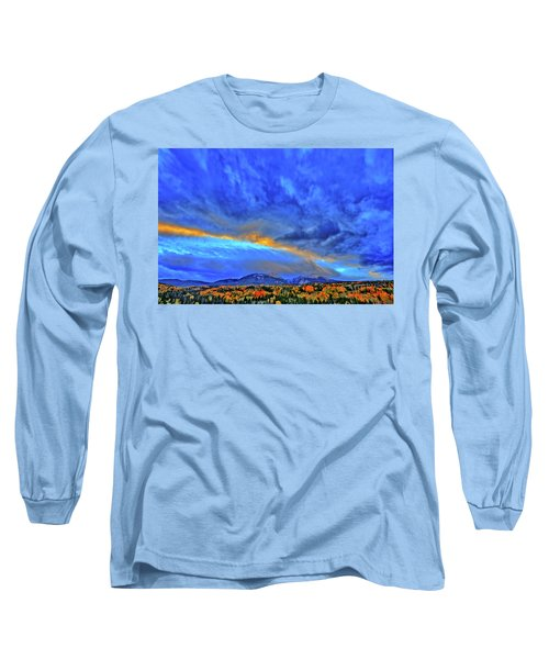 Long Sleeve T-Shirt featuring the photograph Sky Fall by Scott Mahon