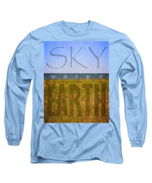 Sky Water Earth 2.0 Long Sleeve T-Shirt