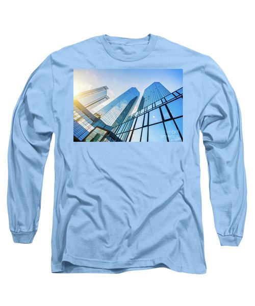 Skyscrapers Long Sleeve T-Shirt by JR Photography