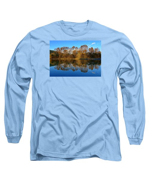 Fraser River Arm  Long Sleeve T-Shirt by Heather Vopni