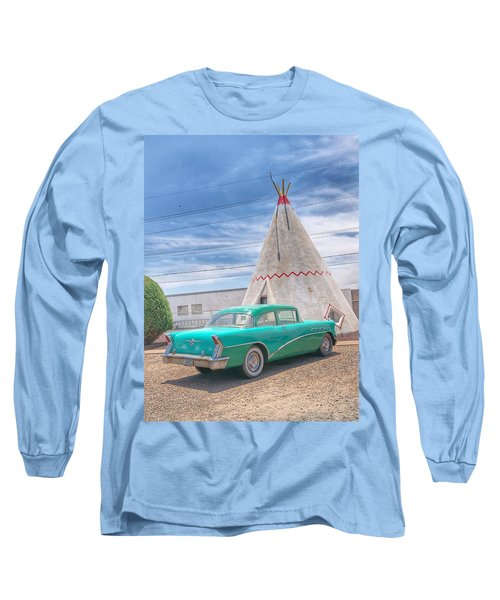 Sleep In A Wigwam Long Sleeve T-Shirt