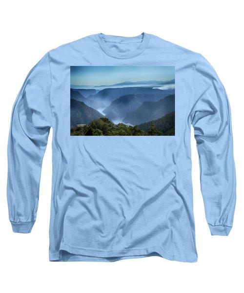 Smoke Over Flaming Gorge Long Sleeve T-Shirt