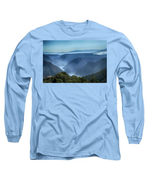 Smoke Over Flaming Gorge Long Sleeve T-Shirt