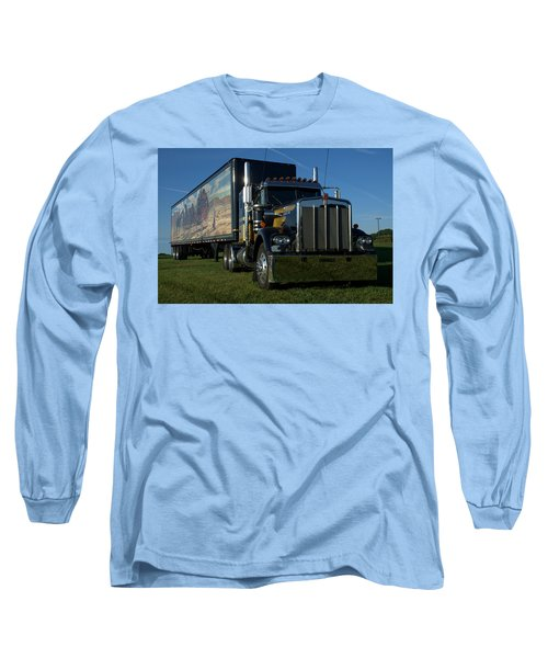 Smokey And The Bandit Tribute Semi Truck Long Sleeve T-Shirt