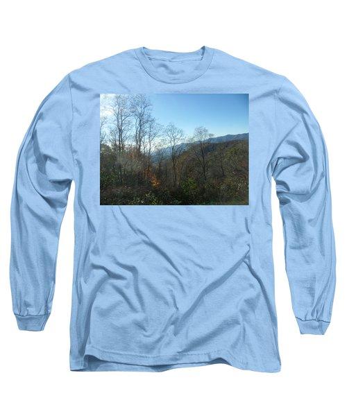 Smokies 15 Long Sleeve T-Shirt by Val Oconnor