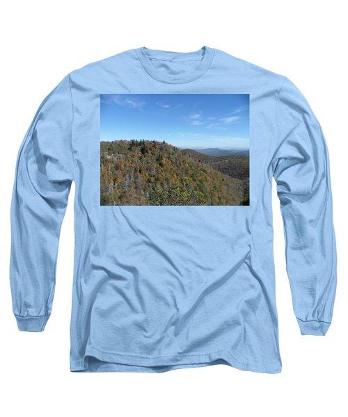 Smokies 7 Long Sleeve T-Shirt by Val Oconnor