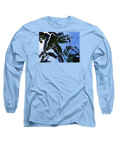 Smooth Bamboos Long Sleeve T-Shirt by Tina M Wenger
