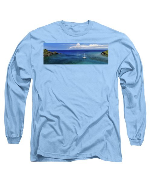 Long Sleeve T-Shirt featuring the photograph Snorkeling In Maui by James Eddy
