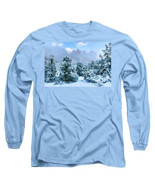 Snow 07-072 Long Sleeve T-Shirt by Scott McAllister