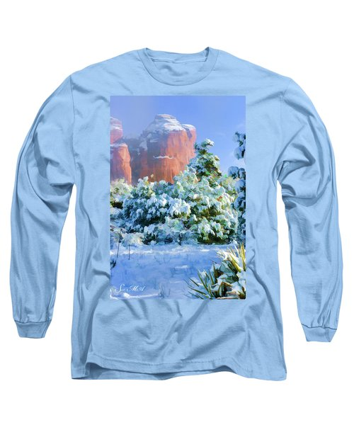 Snow 07-093 Long Sleeve T-Shirt by Scott McAllister