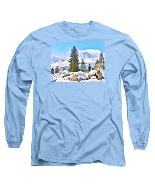 Snow Cool Long Sleeve T-Shirt by Marilyn Diaz
