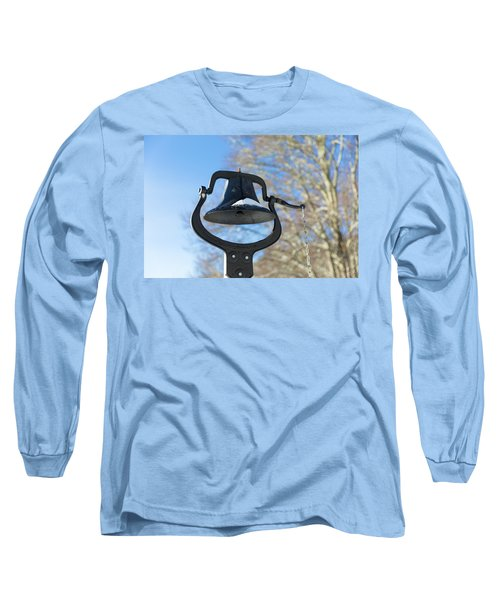 Snow Covered Bell Long Sleeve T-Shirt