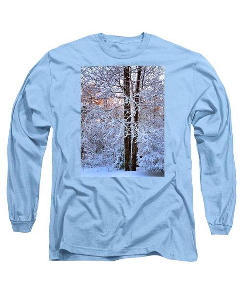 Snow Maple Morning Long Sleeve T-Shirt