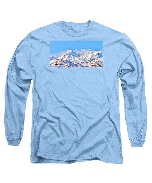 Snow Long Sleeve T-Shirt by Marilyn Diaz