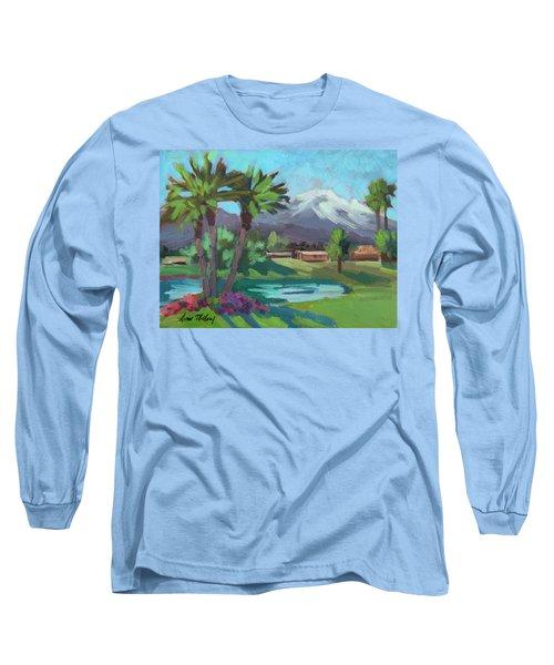 Snow On Mt. San Jacinto Long Sleeve T-Shirt